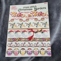 Cross Stitch Christmas Borders by Sam Hawkins American School of Needlew... - $7.69