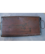 Antique Foot Warmer  Copper Carriage Foot Warmer 1800's  English Antique - $200.00