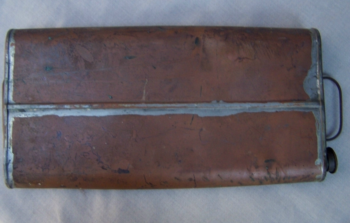 Antique Foot Warmer  Copper Carriage Foot Warmer 1800's  English Antique