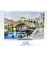 Little Passports Italy Adventure Kids Puzzle Kit - Rialto Bridge & Gondo... - $14.80