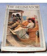 Complete Ladies Delineator Magazine 1913 September Butterick Publishing - $79.00
