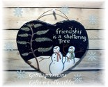 Snowmen heart slate plaque thumb155 crop