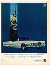Vintage 1969 Magazine Ad Cadillac Pleasure of Owning Is Exceeded only by Driving - $5.93