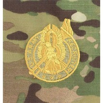GENUINE U.S. ARMY Embroidered Badge: RECRUITER GOLD On OCP (MILITARY ISSUE) - $17.80