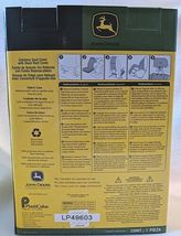 John Deere LP49603 Polyvinyl Black Sideless Seat Cover With Head Rest Cover image 8