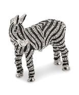 Bejeweled Crystal Zebra Trinket Box - $129.99