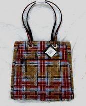 Vera bradley three pocket tote patchwork plaid use thumb200 thumb200