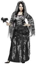 Fun World Cemetery Novia Fantasma Talla Grande Adulto Mujer Disfraz Hall... - $36.62