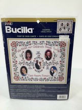 """Bucila Counted Cross Stitch Kit Childrens Hands & Hearts 14""""X11.5""""New 42693 - $11.29"""