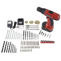 18V Cordless Drill Set Forward Reverse 89 Pieces Tool Set Durable Carryi... - $99.99