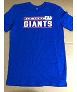 New York Giants NFL Boys' Blue T-Shirt, Size XL (16/18) Nwot - $9.50