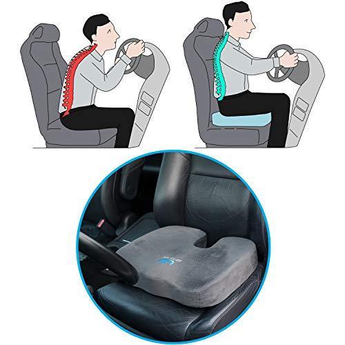 SOFTaCARE Best Seat Cushion – Big Cushion Seat - Office Chair Cushion