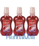 3 X Close-Up Cinnamon Mouthwash With Calcium Alcohol Free 16 fl oz, Free... - $16.82