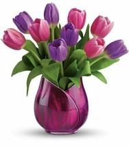 Teleflora's Two Lips Vase Style# 10V300 - VASE ONLY! - $24.74