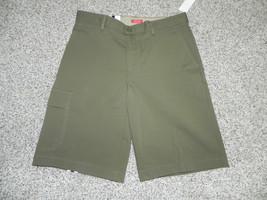 Izod Shorts Military Explorer Olive Size 30 Mens Performance Stretch NWT... - $14.52