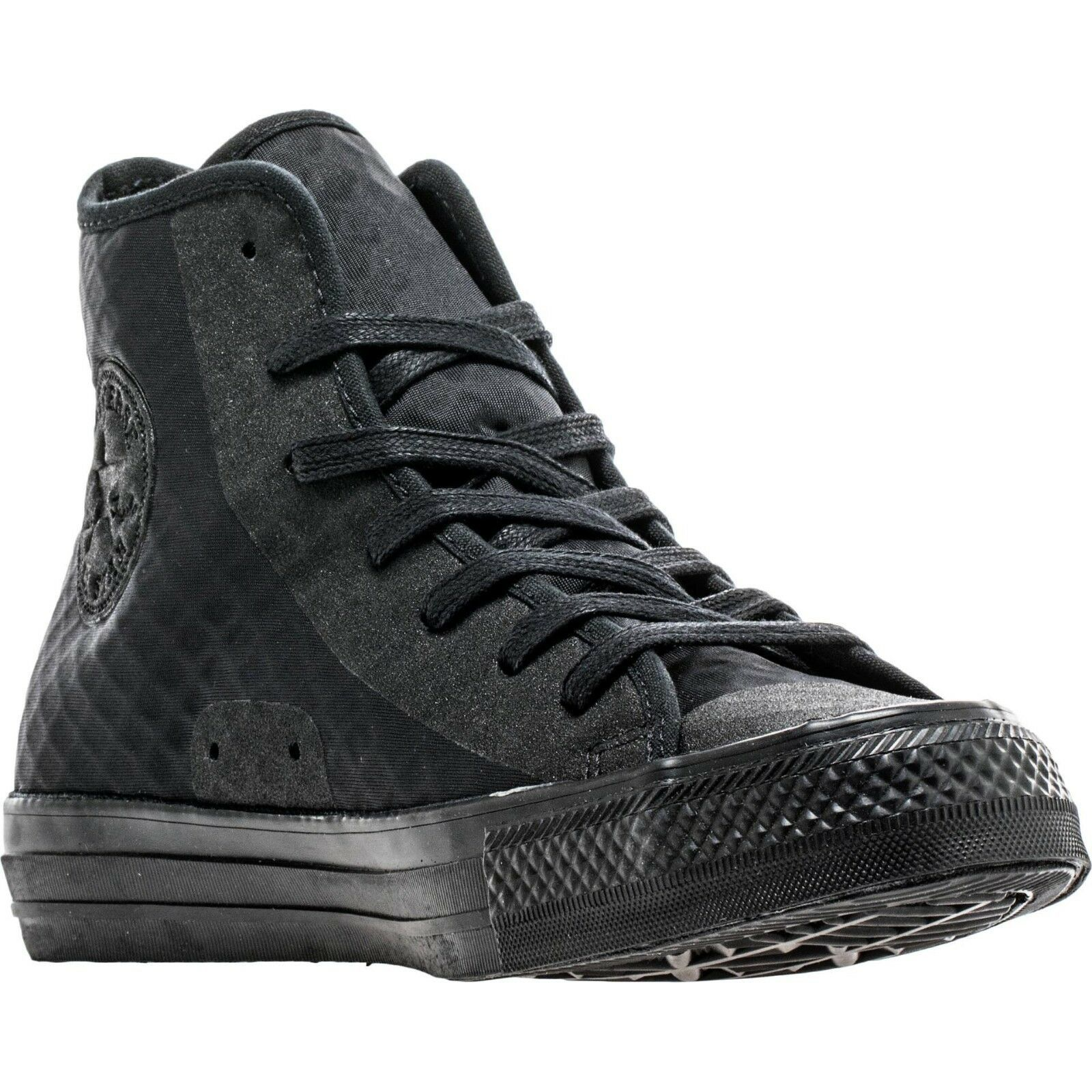 New Converse Chuck Taylor All Star Hi Fuse Grade School Shoes - Sz 4 - black