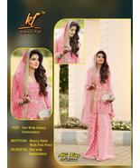 New Ethnic Bridal Dress Women Wedding Party Salwar Kameez Indian Pakista... - $60.99