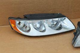 06-08 Hyudai Azera 7-Pin Headlight Head Light Lamps Set L&R - POLISHED image 4