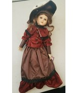 "Fine Porcelain Doll - Original Christina Verdi Collection 16"",  SERIE-1996 - $9.79"