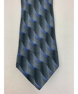 J. Garcia Jerry Garcia Tie Necktie Ocean Breeze Collection 22 Grey Blue - $9.85