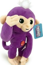 Plush Baby Monkey 10 in w/ Sound Bendable Arms & Legs Purple - $14.35