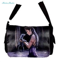 NEW ANNE STOKES FANTASY DRAGON MEDIEVAL ART, MESSENGER BAG **YOUR CHOICE... - £31.75 GBP