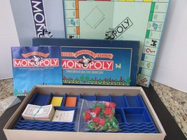 VTG 1985 PARKER BROTHERS DELUXE ANNIVERSARY EDITION MONOPOLY BOARD GAME ... - $8.39