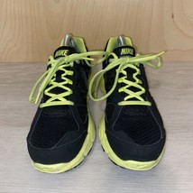 Nike Lunar Forever 2 GS Black Volt Sneakers 555022-002 Youth 7 Women's 8.5 - $24.74