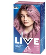 Schwarzkopf Live Permanent Hair Colour Lightener Pastel 105 MAUVE KISS P... - $15.61