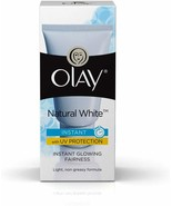 Olay Natural White Light Instant Glowing Fairness Cream, 40gm Free Shipping - $8.09