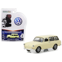 1966 Volkswagen Type 3 Squareback Yellow Series 7 Club Vee Dub 1/64 Diec... - $19.56