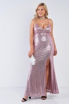 Plus size sleeveless v-neck cami strap dress - $29.99