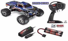 Traxxas 36054-1 Stampede Radio Control Truck RTR w/ Battery BLUE TRA3605... - $199.95