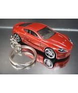 Dark Red 2010 Aston Martin DBS Key Chain Ring - $15.19
