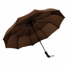 Folding Automatic Travel Umbrella with Teflon Coating Strong 10 Ribs (B... - $36.58