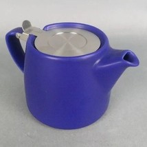 NEW With Defect Teavana Tea Forlife Infusing Infuser Tea Pot Cobalt Blue... - $13.67