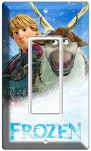 Disney Frozen Kristoff Sven Deer Single Gfi Light Switch Plate Kids Room Bedroom - $8.99