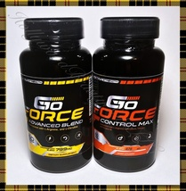 G10 FORCE Advanced Blend 60ct & Control Max 60ct Increase Stamina & Strength  - $49.95