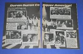 DURAN DURAN 16 MAGAZINE PHOTO VINTAGE 1984 - $12.99