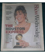 WHITNEY HOUSTON SHOW NEWSPAPER SUPPLEMENT VINTAGE 1994 - $32.99