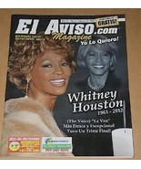 Whitney Houston El Aviso Magazine February 25, 2012 - $22.99