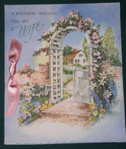 VINTAGE 1948 RUST CRAFT BIRTHDAY GREETING CARD - $9.99