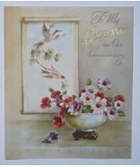 VINTAGE 1947 RUST CRAFT ANNIVERSAY GREETING CARD - $9.99