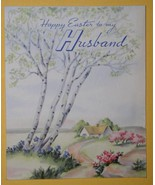 VINTAGE 1946 NORCROSS EASTER GREETING CARD SCRAPBOOKING - $9.99