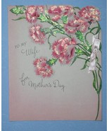VINTAGE 1946 GIBSON MOTHER'S DAY GREETING CARD - $9.99