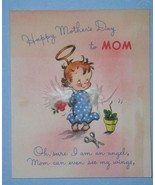 VINTAGE 1940'S VOLLAND MOTHER'S DAY GREETING CARD - $9.99