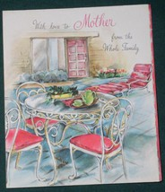 VINTAGE 1940'S HALLMARK MOTHER'S DAY GREETING CARD - $9.99