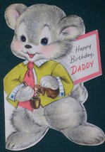 VINTAGE 1940'S HALLMARK BIRTHDAY  GREETING CARD - $9.99