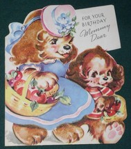 VINTAGE 1940'S AMERICAN GREETINGS BIRTHDAY CARD - $9.99