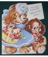 VINTAGE 1940'S AMERICAN GREETINGS BIRTHDAY CARD - $12.99